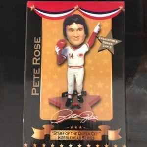 Pete Rose Cincinnati Reds Bobblehead NIB